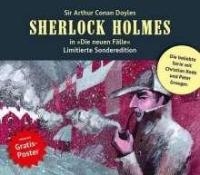 Andreas Masuth: Sherlock Holmes - Die neuen Fälle-Box. Besuche eines Gehenkten u. a., 3 CDs