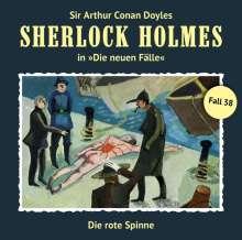 Sherlock Holmes - Die neuen Fälle 38. Die rote Spinne, CD