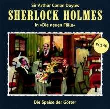 Sherlock Holmes - Die neuen Fälle 40. Die Speise der Götter, CD