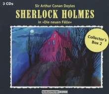 Sherlock Holmes - Die neuen Fälle: Collector's Box 2, 3 CDs