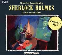 Sherlock Holmes - Die neuen Fälle: Collector's Box 3, 3 CDs