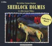 Sherlock Holmes - Die neuen Fälle: Collector's Box 5, 3 CDs