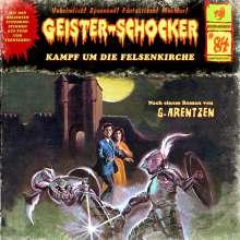 Geister-Schocker: Geister-Schocker 84.  Kampf um die Felsenkirche, CD