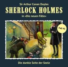 Sherlock Holmes - Die neuen Fälle 41. Die dunkle Seite der Seele, CD