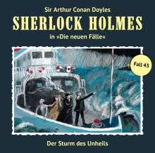 Sherlock Holmes - Die neuen Fälle 43. Der Sturm des Unheils, CD