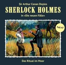Sherlock Holmes - Die neuen Fälle 47. Das Ritual im Moor, CD