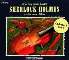 Sherlock Holmes - Die neuen Fälle: Collector's Box 6, 3 CDs