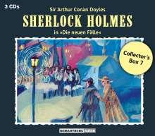 Sherlock Holmes - Die neuen Fälle: Collector's Box 7, 3 CDs