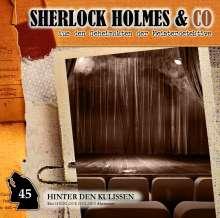 Sherlock Holmes & Co 45. Hinter den Kulissen, CD