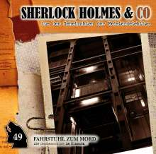 Sherlock Holmes & Co 49: Fahrstuhl zum Mond, CD