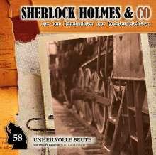 Sherlock Holmes und Co. (58) Unheilvolle Beute, CD