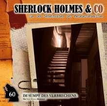 Sherlock Holmes und Co. (60) Im Sumpf des Verbrechens, CD