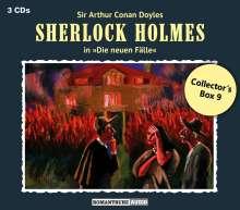 Sherlock Holmes - Die neuen Fälle: Collector's Box 9, 3 CDs