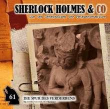 Sherlock Holmes und Co. (61) Die Spur des Verderbens Teil 1, CD