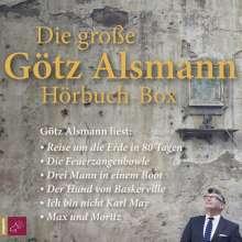 Arthur Conan Doyle: Die große Götz Alsmann Hörbuch-Box, 18 CDs