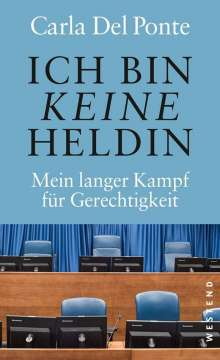Carla Del Ponte: Ich bin keine Heldin, Buch