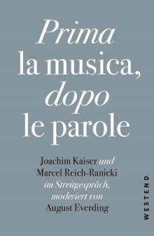 August Everding: Prima la Musica, dopo le parole, Buch