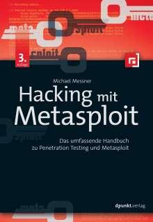 Michael Messner: Hacking mit Metasploit, Buch