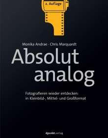 Monika Andrae: Absolut analog, Buch