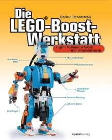 Daniele Benedettelli: Die LEGO®-Boost-Werkstatt, Buch