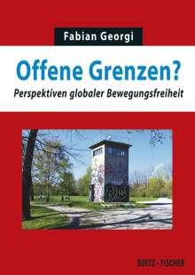Fabian Georgi: Offene Grenzen?, Buch