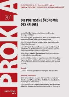 Prokla 201: Die politische Ökonomie des Krieges, Buch