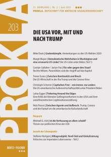 Prokla 203: Die USA vor, mit und nach Trump, Buch