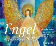Anselm Grün: Engel für das ganze Jahr 2022, Kalender