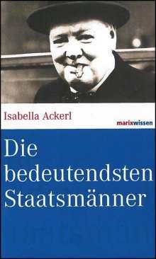 Isabella Ackerl: Die bedeutendsten Staatsmänner, Buch