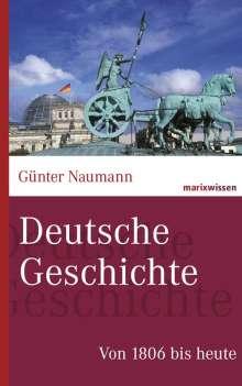 Günter Naumann: Deutsche Geschichte, Buch