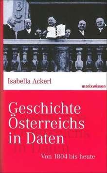 Isabella Ackerl: Von 1804 bis heute, Buch