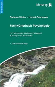 Stefanie Winter: Fachwörterbuch Psychologie, Buch