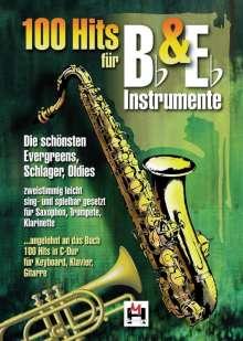 100 Hits für Bb- & Eb-Instrumente, Noten