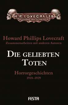 H. P. Lovecraft: Die geliebten Toten, Buch