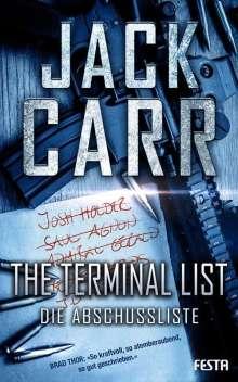 Jack Carr: THE TERMINAL LIST - Die Abschussliste, Buch