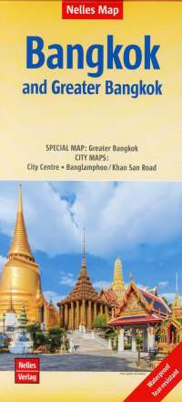 Nelles Map Bangkok and Greater Bangkok, Diverse
