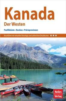 Nicola Förg: Nelles Guide Reiseführer Kanada: Der Westen, Buch
