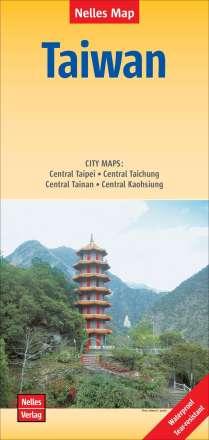 Nelles Map Landkarte Taiwan 1 : 400 000, Diverse