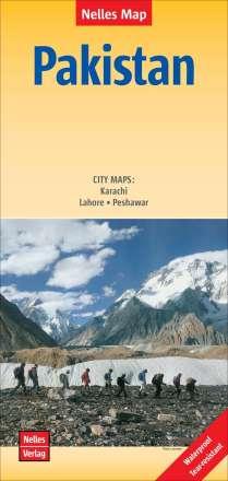 Nelles Map Landkarte Pakistan - Pakistán 1 : 1 500 000, Diverse