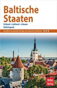 Nelles Guide Reiseführer Baltische Staaten, Buch
