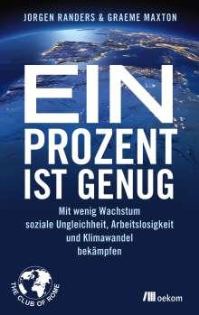 Jorgen Randers: Ein Prozent ist genug, Buch