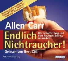 Allen Carr: Endlich Nichtraucher, 2 CDs