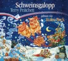 Terry Pratchett: Schweinsgalopp, 6 CDs