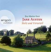 Jane Austen: Stolz und Vorurteil (Sonderedition), 10 CDs