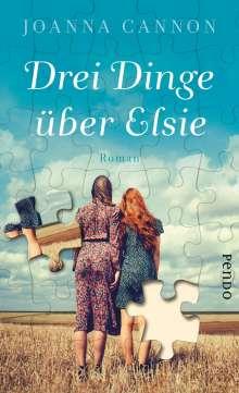 Joanna Cannon: Drei Dinge über Elsie, Buch