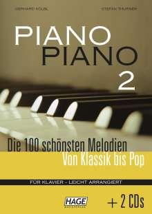 Piano Piano 2, Noten