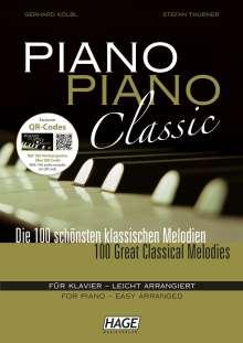 Piano Piano Classic, Noten