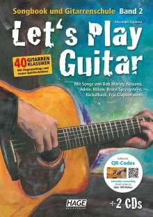 Alexander Espinosa: Let's Play Guitar Band 2, Buch