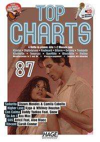 Top Charts 87 (mit CD + Midifiles, USB-Stick), Buch