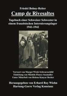 Friedel Bohny-Reiter: Camp de Rivesaltes, Buch